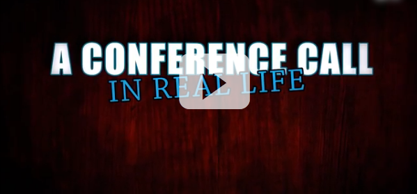 Funniest Conference Call Parody You'll See