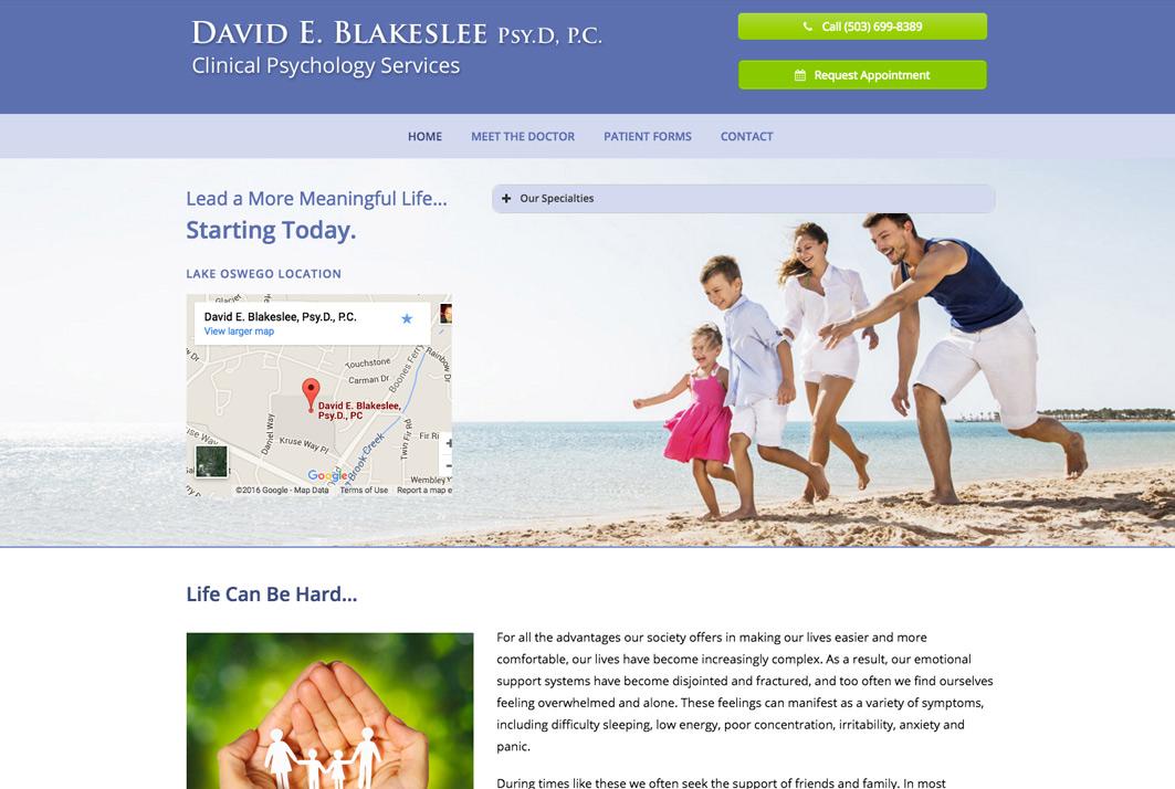 David E. Blakeslee
