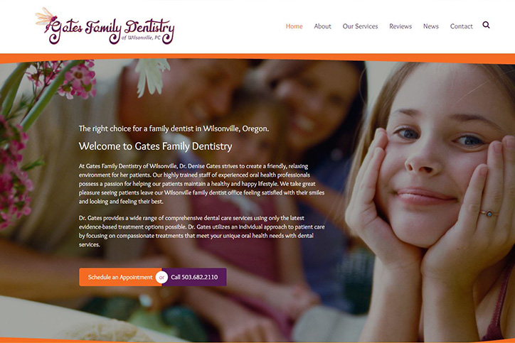 Gates Family Dentistry: A Wilsonville Family Dentist