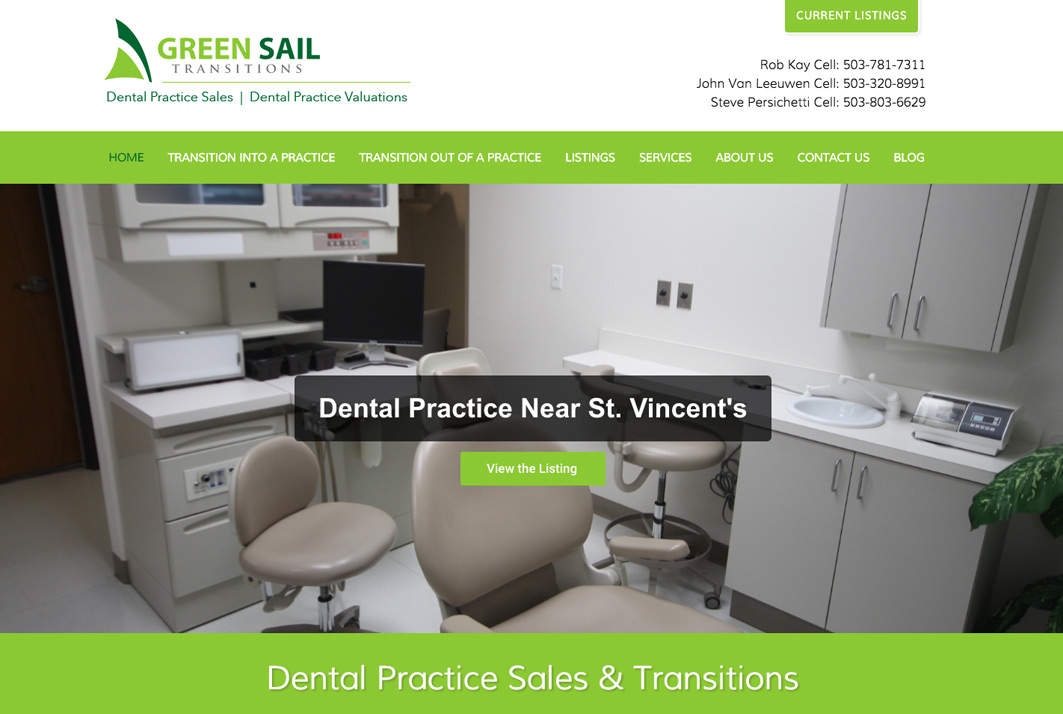 Greensail Transitions